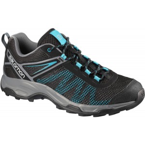 Incaltaminte Hiking Salomon X Ultra Mehari M Negru / Turcoaz
