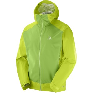 Geaca Hiking Salomon La Cote Stretch 2.5L M Lime