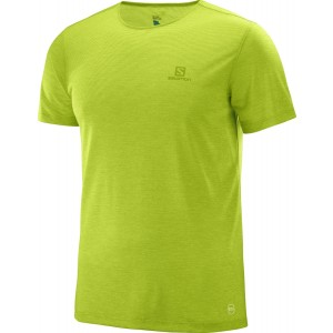 Tricou Hiking Salomon Cosmic Crew SS M Lime