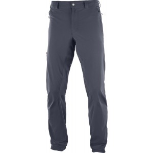Pantaloni Hiking Salomon Wayfarer Incline M Gri Inchis