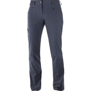 Pantaloni Hiking Salomon Wayfarer W Gri Inchis