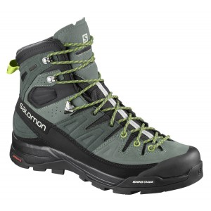 Incaltaminte Hiking Salomon X Alp High Ltr GTX M Gri-Kaki
