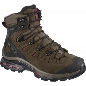 Incaltaminte Hiking Salomon Quest 4D 3 GTX W Maro