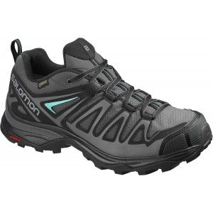 Incaltaminte Hiking Salomon X Ultra 3 Prime GTX W Gri