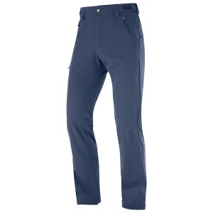 Pantaloni Barbati Hiking Salomon Wayfarer Straight Bleumarin