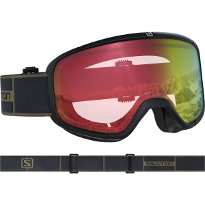 Ochelari Ski si Snowboard Salomon Four Seven Photo Bk/All Weather Red Negru