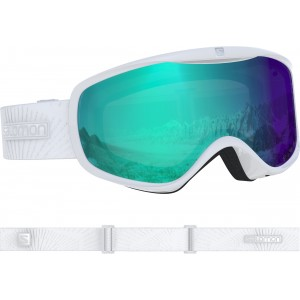 Ochelari Ski si Snowboard Salomon Sense Photo Wh/All Weather Bl Alb
