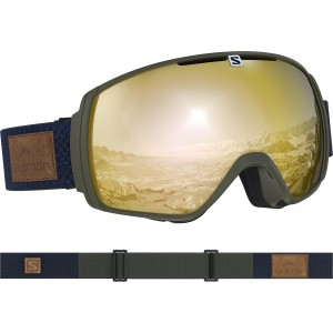 Ochelari Ski si Snowboard Salomon XT One Olive Night/Sol Bronze Kaki