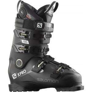 Clapari Ski Barbati Salomon X Pro 100 Custom Heat Connect Negru 2019
