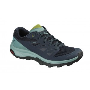 Incaltaminte Femei Hiking Salomon Outline GTX Indigo / Mint