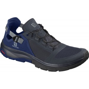 Incaltaminte Barbati Hiking Salomon Techamphibian 4 Indigo / Bleumarin