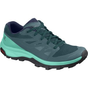 Incaltaminte Femei Hiking Salomon Outline Bleumarin / Mint