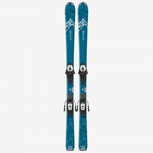 SALOMON SKI SET L QST MAX Jr M + L6 GW J2  Copii Portocaliu