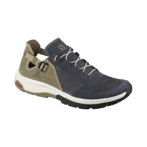 Salomon Incaltaminte Drumetie Barbati  Tech Amphib 4 Ebony/Mermaid/Vanill (Bleumarin)