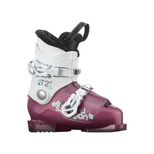 Salomon CLAPARI SKI COPII T2 RT GIRLY (Caramiziu)