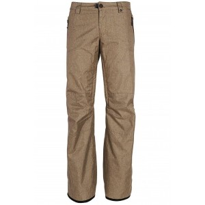 Pantaloni Snowboard Femei 686 After Dark Kaki