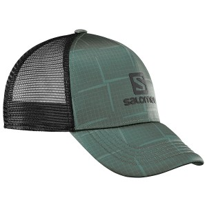 Sapca Salomon Summer Logo Gri