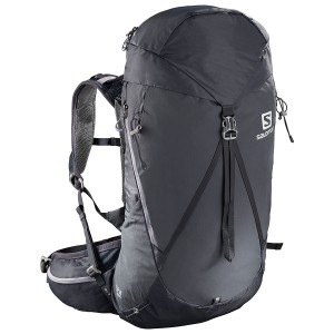 Rucsac Femei Hiking Salomon Out Night 28+5 Gri Deschis / Mov