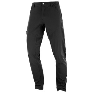 Pantaloni Barbati Hiking Salomon Wayfarer Tapered Negru
