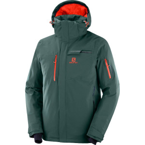 Salomon Geaca Ski  BRILLIANT JKT Barbati Verde