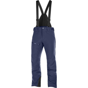Salomon Pantaloni Ski CHILL OUT BIB PANT Barbati Bleumarin