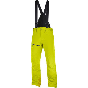 Salomon Pantaloni Ski CHILL OUT BIB PANT Barbati Galben