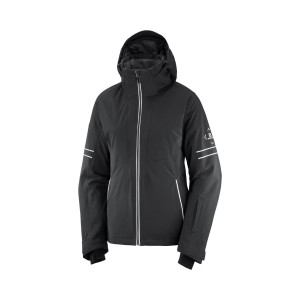 Salomon Geaca Ski Femei THE BRILLIANT JACKET W Negru