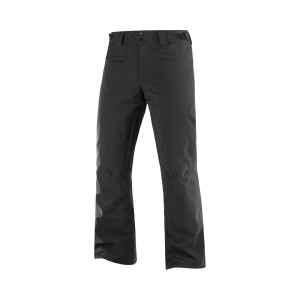 Salomon Pantaloni Ski Barbati Brilliant Negri