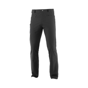 Pantaloni Drumetie Barbati Salomon WAYFARER ALL SEASON STRAIGHT SHORT Negru