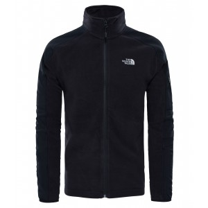 Polar Barbati The North Face Glacier Delta Full Zip Negru