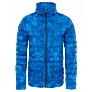 Geaca Hiking The North Face Thermoball Full Zip B Albastru