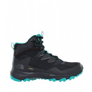 Incaltaminte Hiking The North Face Utra Fastpack III Mid GTX W Negru / Turcoaz