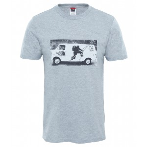 Tricou The North Face Celebration Easy S/S M Gri