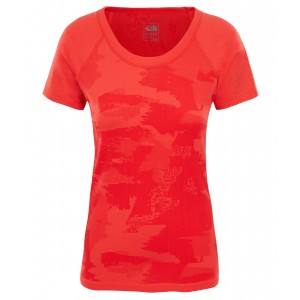 Tricou Hiking The North Face Seamless S/S W Rosu