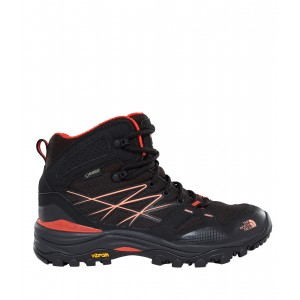Incaltaminte Hiking The North Face Hedgehog Fastpack Mid GTX Eu W Negru / Portocaliu
