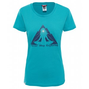 Tricou Hiking The North Face Nse Series S/S W Turcoaz