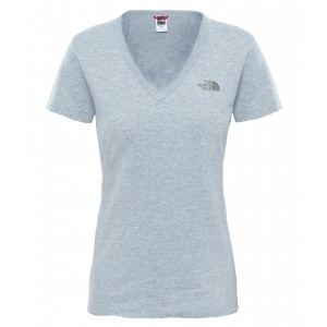 Tricou Hiking The North Face Simple Dome S/S W Gri