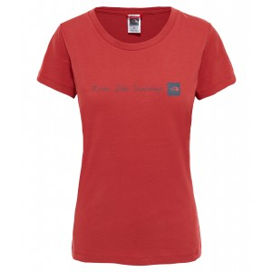 Tricou Hiking The North Face Nse S/S W Rosu