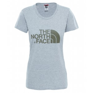 Tricou The North Face Easy S/S W Gri