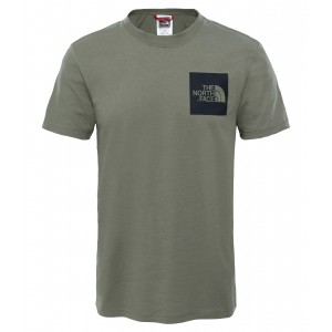 Tricou The North Face Fine S/S M Verde