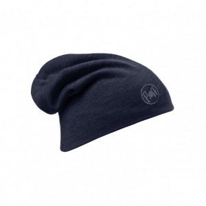 Caciula Buff Wool Thermal Loose Solid Bleumarin