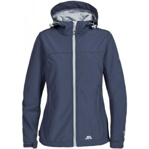 Geaca Softshell Femei Hiking Trespass Loris Indigo