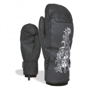 Manusi Ski Level Joker Mitt Black/White