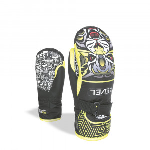 Manusi Ski Level Junior Mitt yellow