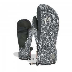 Manusi Schi si Snowboard Level Bliss Mummies PK Mitt Alb
