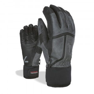 Manusi Ski Level Off Piste Leather anthracite