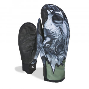 Manusi Ski Level Pro Rider Mitt Grey