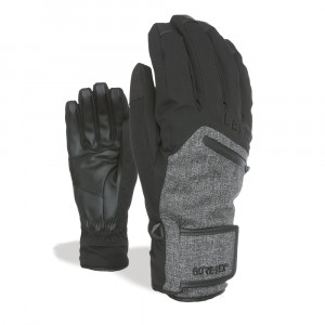 Manusi Ski Level Rescue Gore-Tex Black-Grey