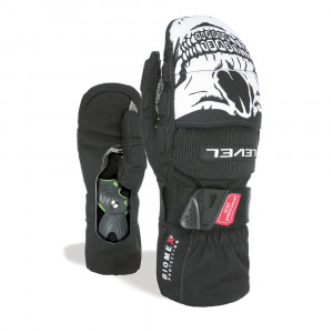Manusi Ski Level Super Carve Mitt Black/White