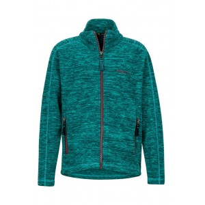 Polar Fete Hiking Marmot Lassen Fleece Verde